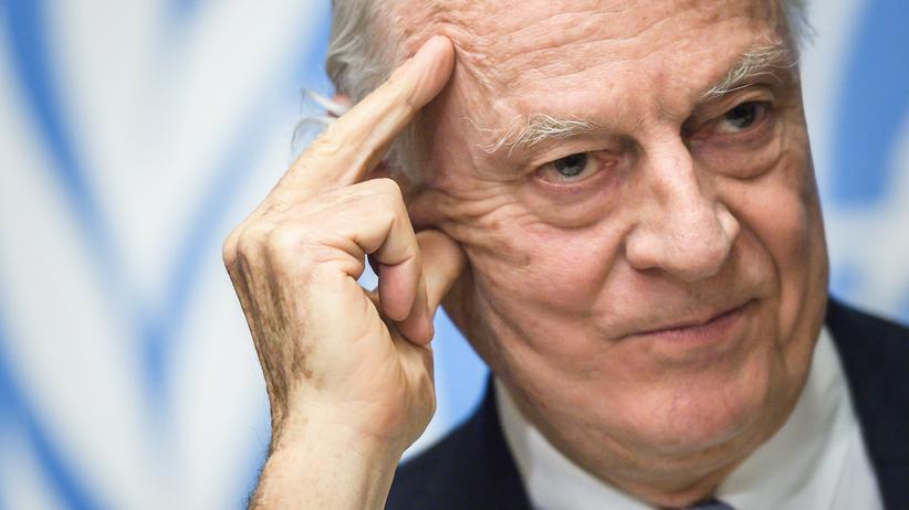 Staffan de Mistura: UN-Syriengesandter kündigt Rücktritt an