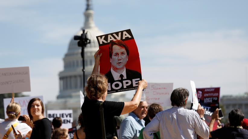 Supreme Court: Hunderte Festnahmen bei Protesten gegen Brett Kavanaugh