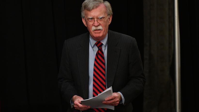 US-Regierung: Der Nationale Sicherheitsberater John Bolton gilt in der US-Regierung als Hardliner gegenüber dem Iran.