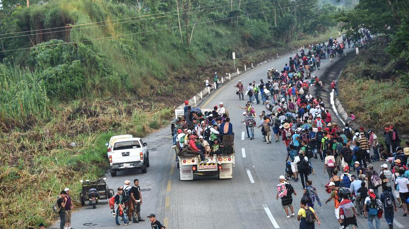 USA: Regierung sendet Truppen an die mexikanische Grenze