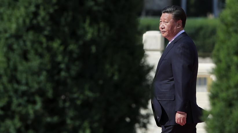Handelsstreit USA und China: Chinas Präsident Xi Jinping in Peking