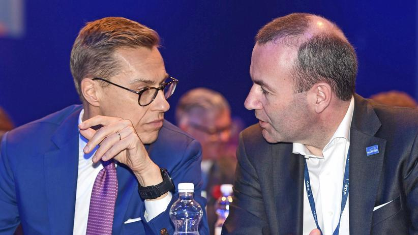 Europäische Volkspartei: EVP-Kandidat Stubb droht Orbán mit Ausschluss
