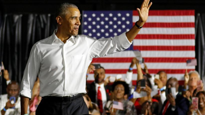 Wahlkampf in den USA: Obama und Trump attackieren sich gegenseitig