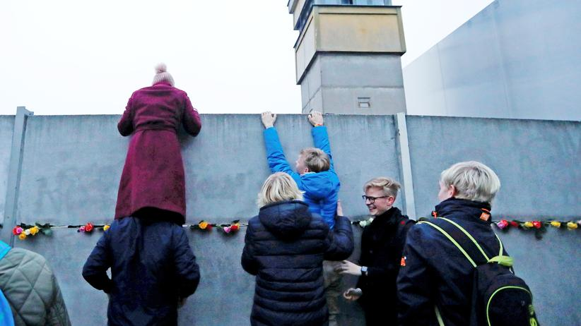Falling Walls Conference: Remains of the Berlin Wall