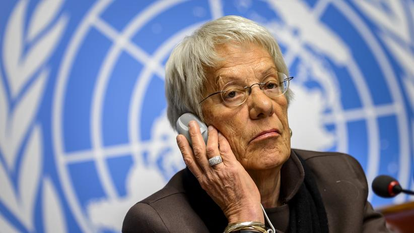 "Vereinte Nationen: Carla Del Ponte kritisiert UN als ""Schwatzbude"""