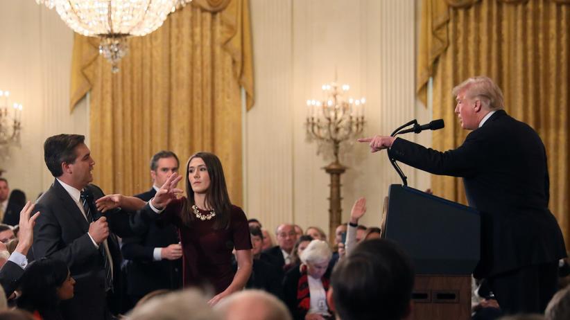 US-Medien: Weißes Haus entzieht CNN-Reporter die Akkreditierung