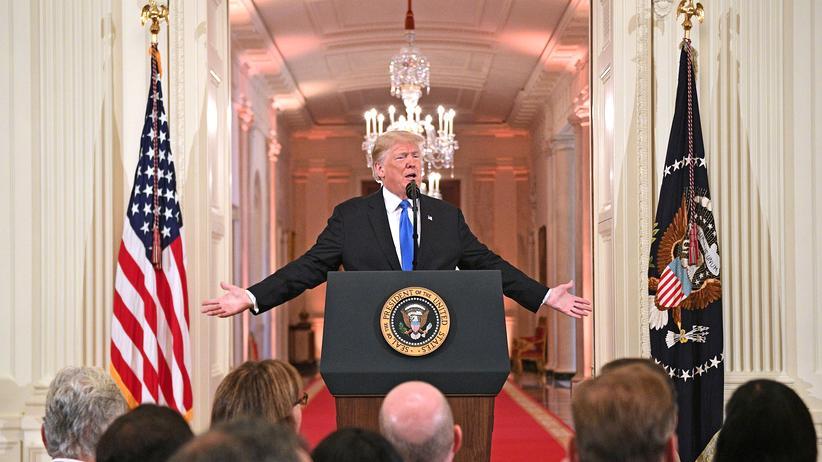 US-Kongresswahlen: Donald Trump bietet Demokraten Zusammenarbeit an