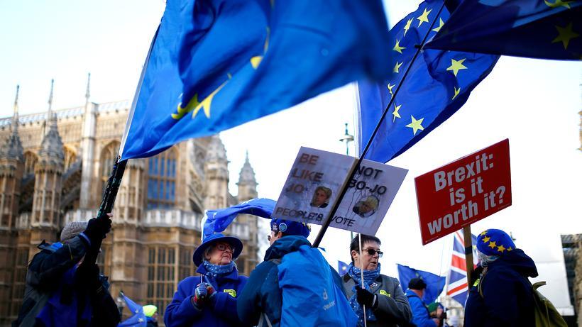 Eu Austritt Entwurf Für Brexit Erklärung Vereinbart Zeit Online