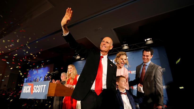 Florida: Rick Scott, der Kandidat der Republikaner für den Senatssitz