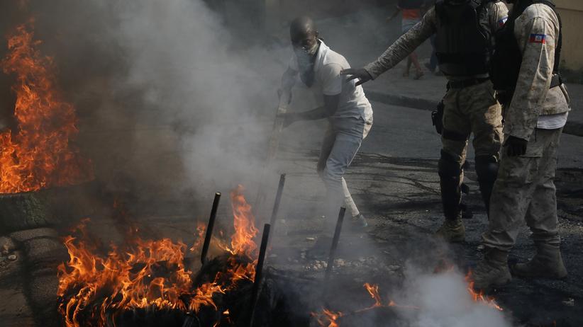 Port-au-Prince: Elf Tote durch Unruhen in Haiti
