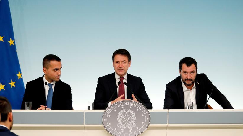Haushalt: Eurofinanzminister fordern Überarbeitung von Italiens Budgetentwurf