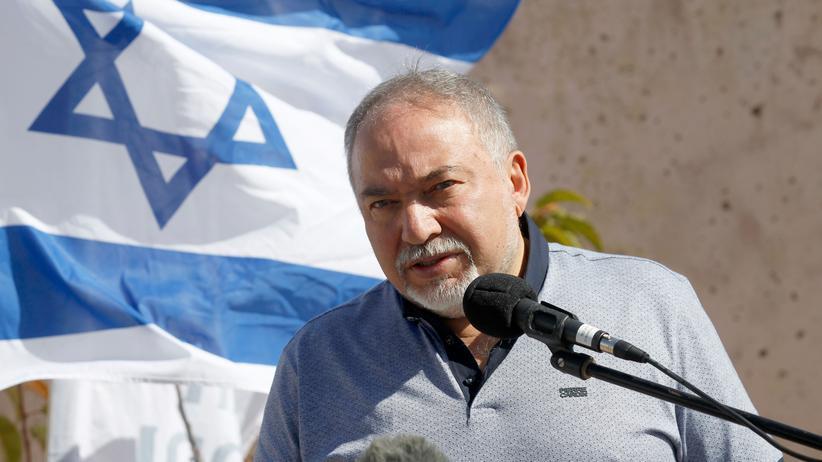Israel: Israels Verteidigungsminister Avigdor Lieberman