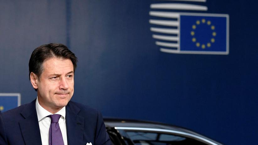 Haushaltsstreit: Italien hält noch an Defizitziel fest