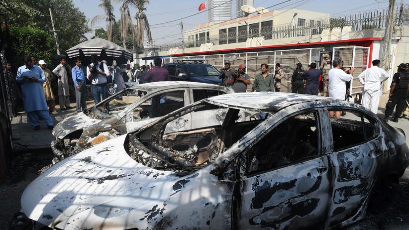 Pakistan: Tote nach Angriff auf chinesisches Konsulat in Karatschi
