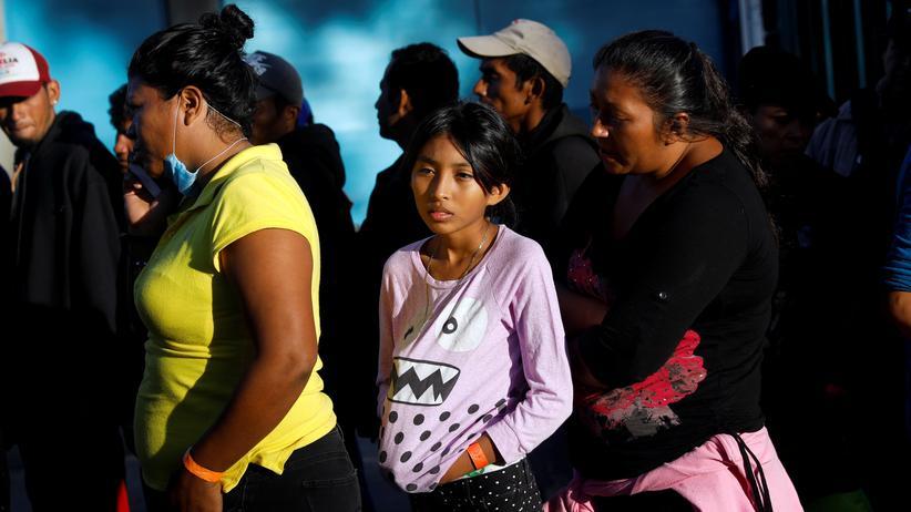 Mexiko: Migranten an der Grenze zu den USA