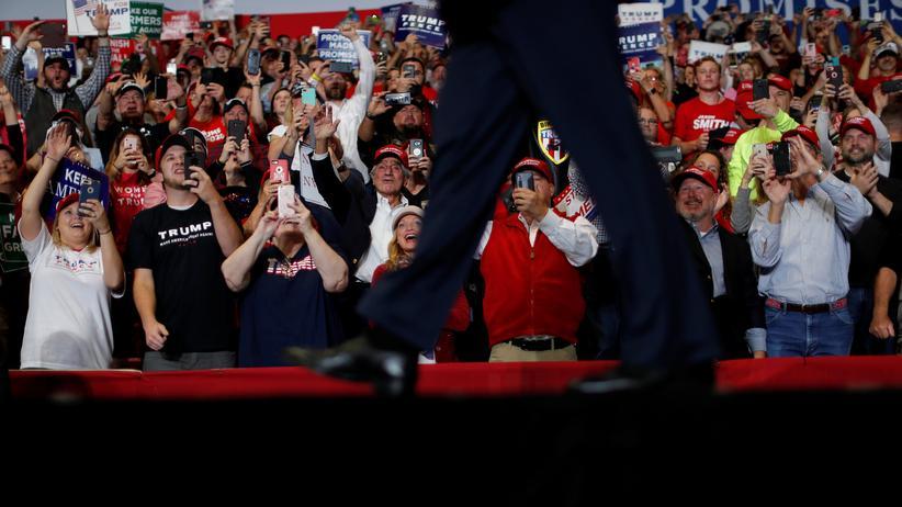 Midterm Elections: Trump bei einer Wahlkampfveranstaltung