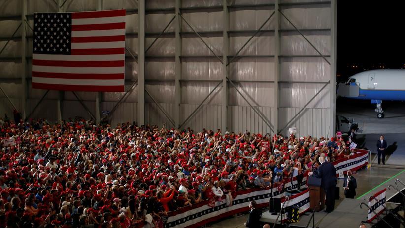Donald Trump: Der Präsident kämpft um Wähler