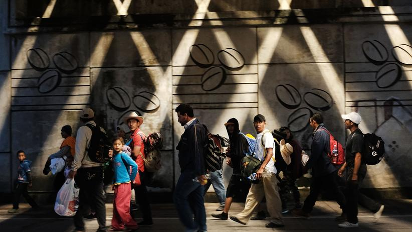 Mittelamerika: Staatschefs wollen gegen Migrantentreck vorgehen