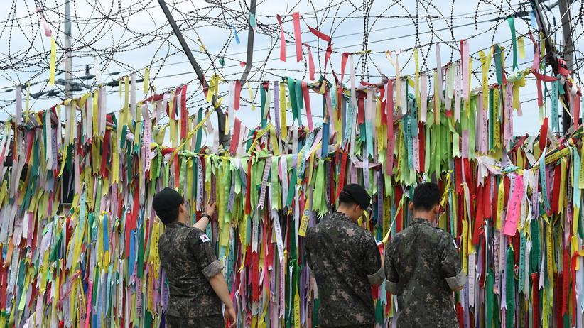 Militärabkommen: Nord- und Südkorea entwaffnen erste Grenzposten