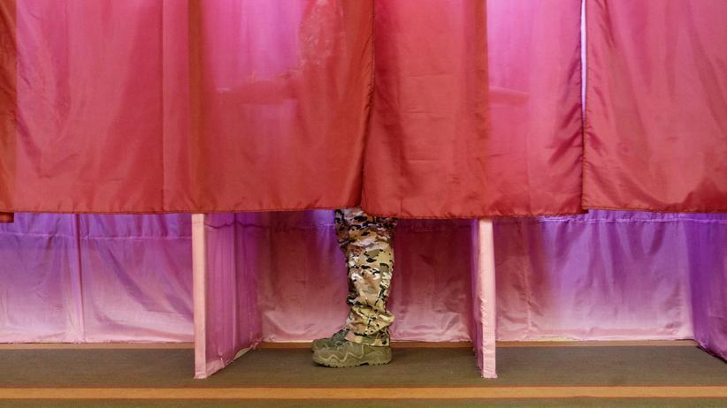 Ukraine: EU und USA bezeichnen Wahlen in Ostukraine als illegal