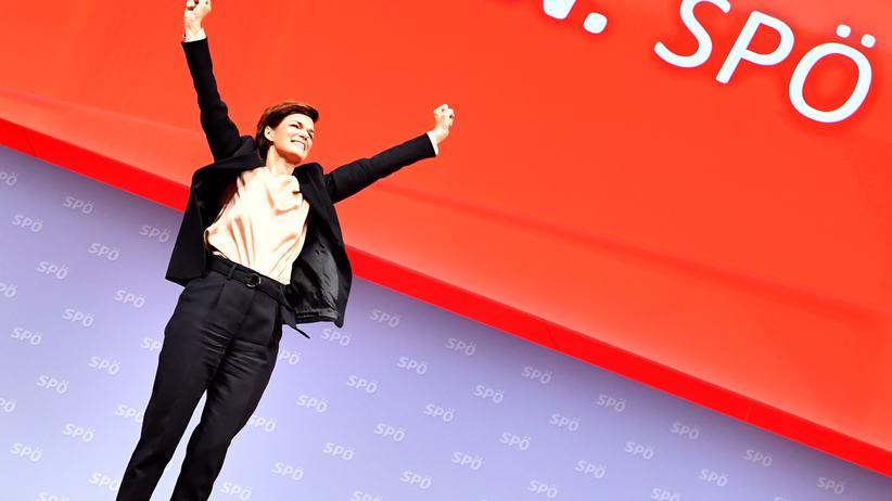 SPÖ: Österreichs Sozialdemokraten wählen erstmals eine Frau als Chefin