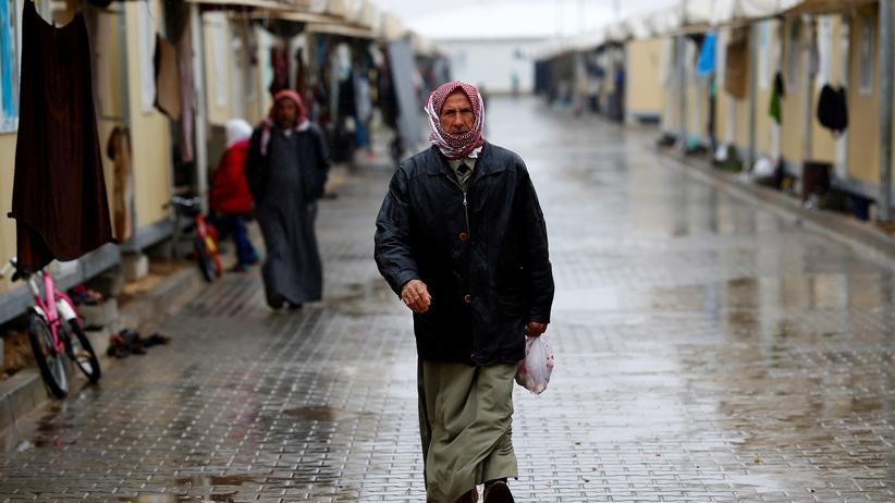 Migration: Menschen aus Syrien in einem türkischen Flüchtlingslager