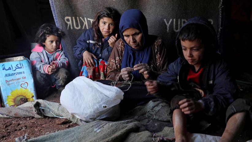 """Syrien: """"In Syrien malen die Kinder Leichen"""""""
