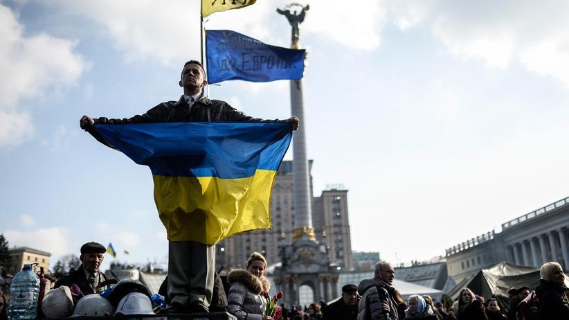 Euromaidan in Kiew: Revolution von Herbst bis Winter
