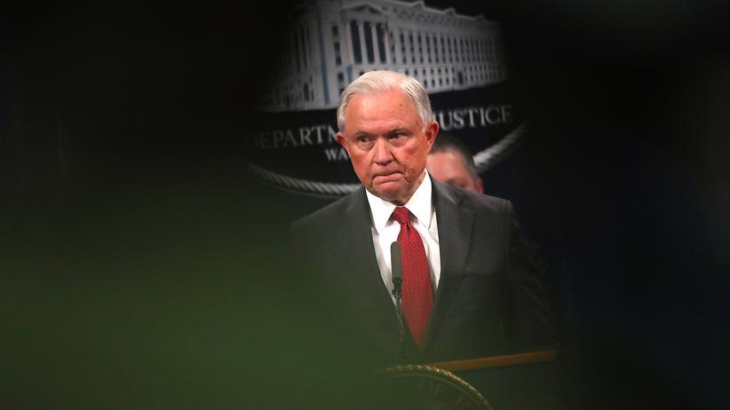 US-Justizminister: Eine Gefahr für die Russland-Ermittlungen