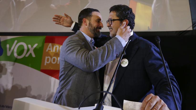 Spanien: Ultrarechte ziehen ins Regionalparlament von Andalusien ein