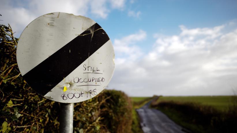 Brexit-Vertrag: Das Problem der Grenze zwischen Irland und Nordirland wird gelöst, sobald sich Großbritannien und die EU auf ein dauerhaftes Freihandelsabkommen geeinigt haben