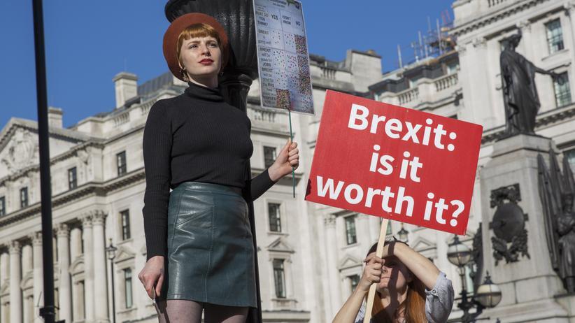 """Großbritannien: """"Junge Menschen haben genug vom Brexit"""""""
