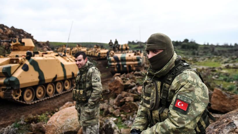 Syrien: Türkische Soldaten im Norden Syriens