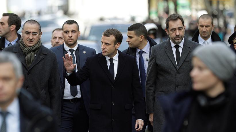 Frankreich: Emmanuel Macron fordert gemeinsamen Appell an Gelbwesten