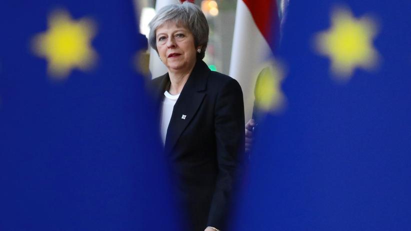 EU-Gipfel in Brüssel: Theresa May zu Brexit-Nachverhandlungen in Brüssel