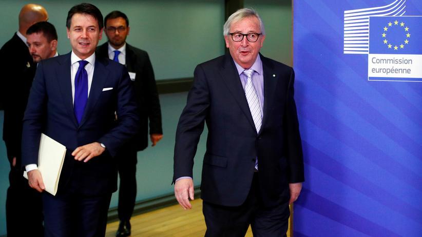 Haushaltsstreit: EU-Kommission und Italien einigen sich im Streit über Haushalt