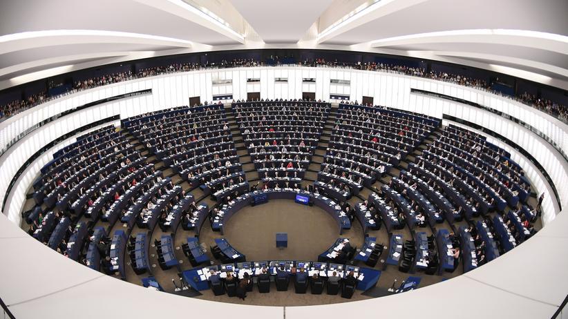 EU-Ratspräsidentschaft: Das Europäische Parlament in Straßburg