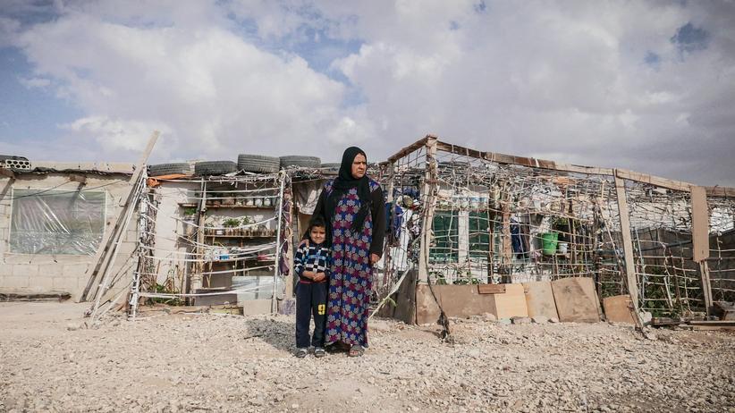 """Flüchtlinge in Jordanien: """"Sie schneiden dir die Kehle durch"""""""