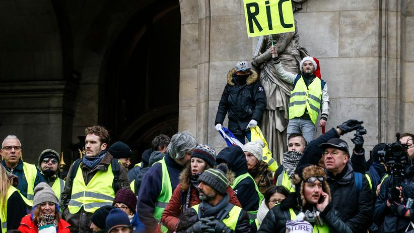 Frankreich: Weniger Gelbwesten und weniger Krawall