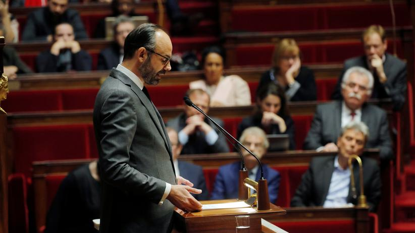 Gelbwesten: Frankreich rechnet mit zu hohem Haushaltsdefizit