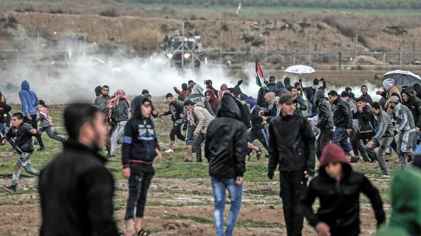 Gazastreifen: Palästinenser bei gewaltsamen Auseinandersetzungen getötet