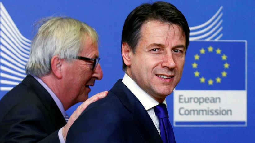 Haushaltsstreit: Der italienische Premierminister Giuseppe Conte