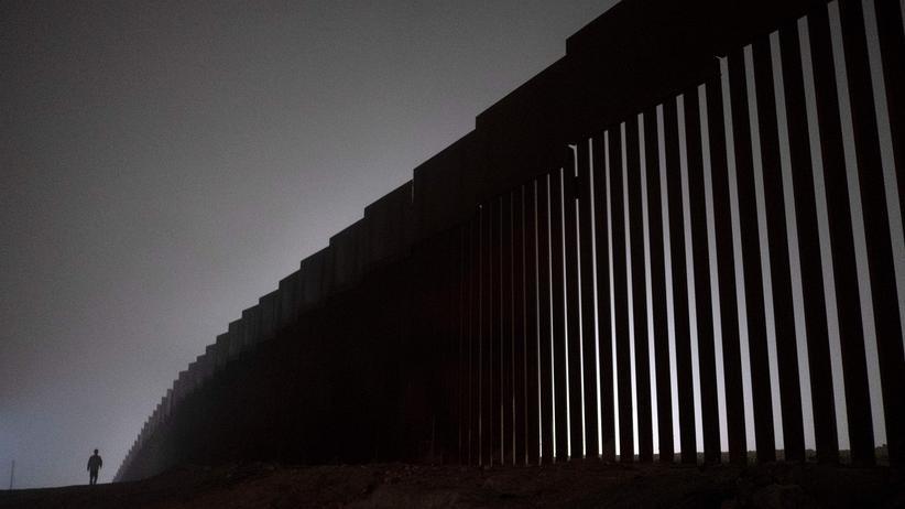 US-Präsident : Donald Trump droht mit Schließung der Grenze zu Mexiko