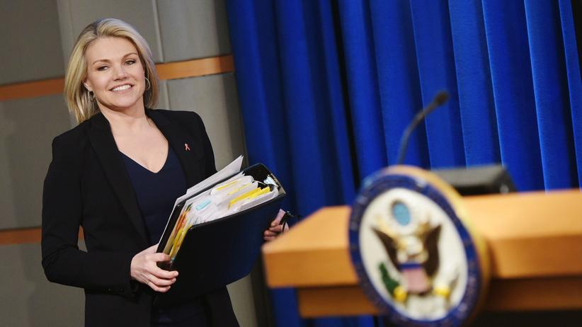 US-Außenministeriumssprecherin Heather Nauert