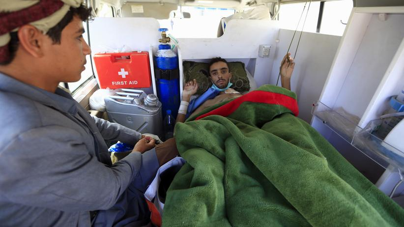 Jemen: Verletzte Huthi-Rebellen ausgeflogen