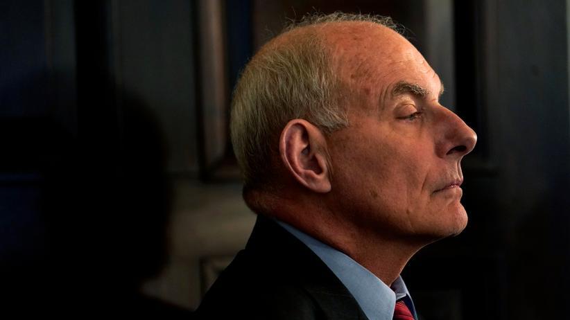 John Kelly: Disziplin ist im Weißen Haus nicht gefragt
