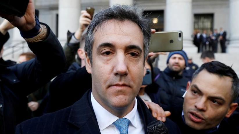 Michael Cohen: Les propos du président américain Donald Trump, Michael Cohen, à New York