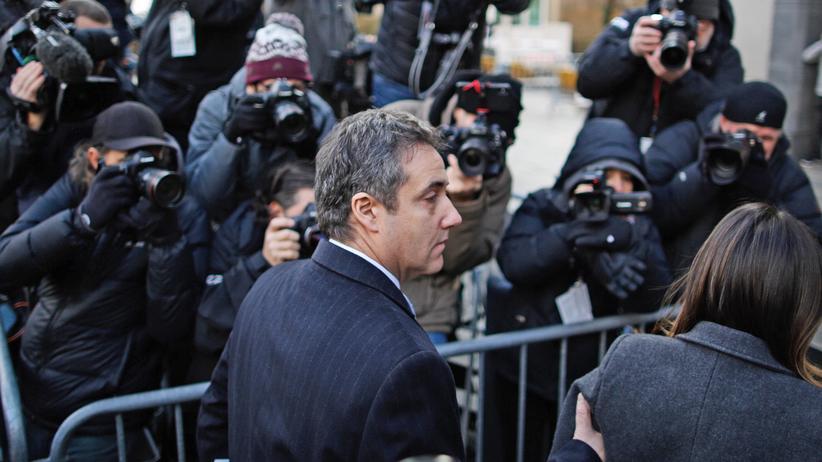 Russland-Ermittlungen: Michael Cohen zu drei Jahren Haft verurteilt