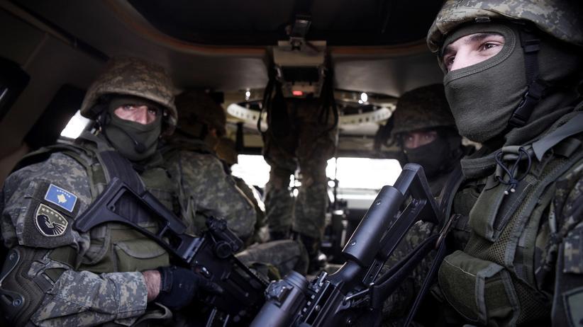 Militarisierungspläne: Mitglieder der 2009 gegründeten Sicherheitskräfte des Kosovos