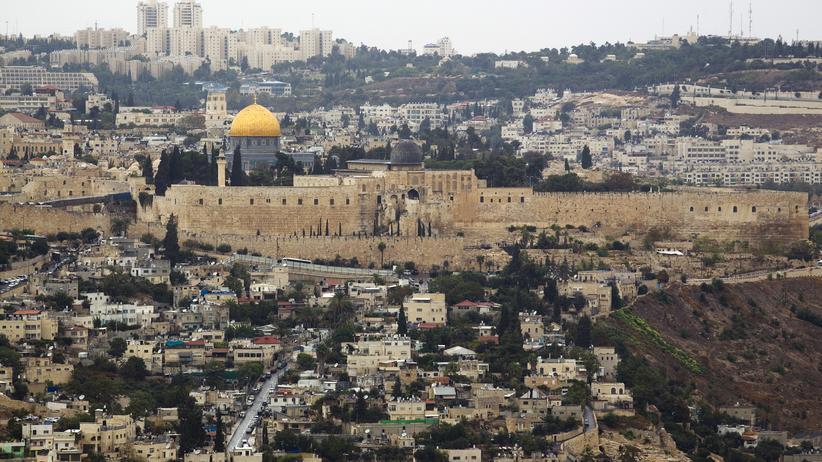 Blick über die Altstadt von Jerusalem